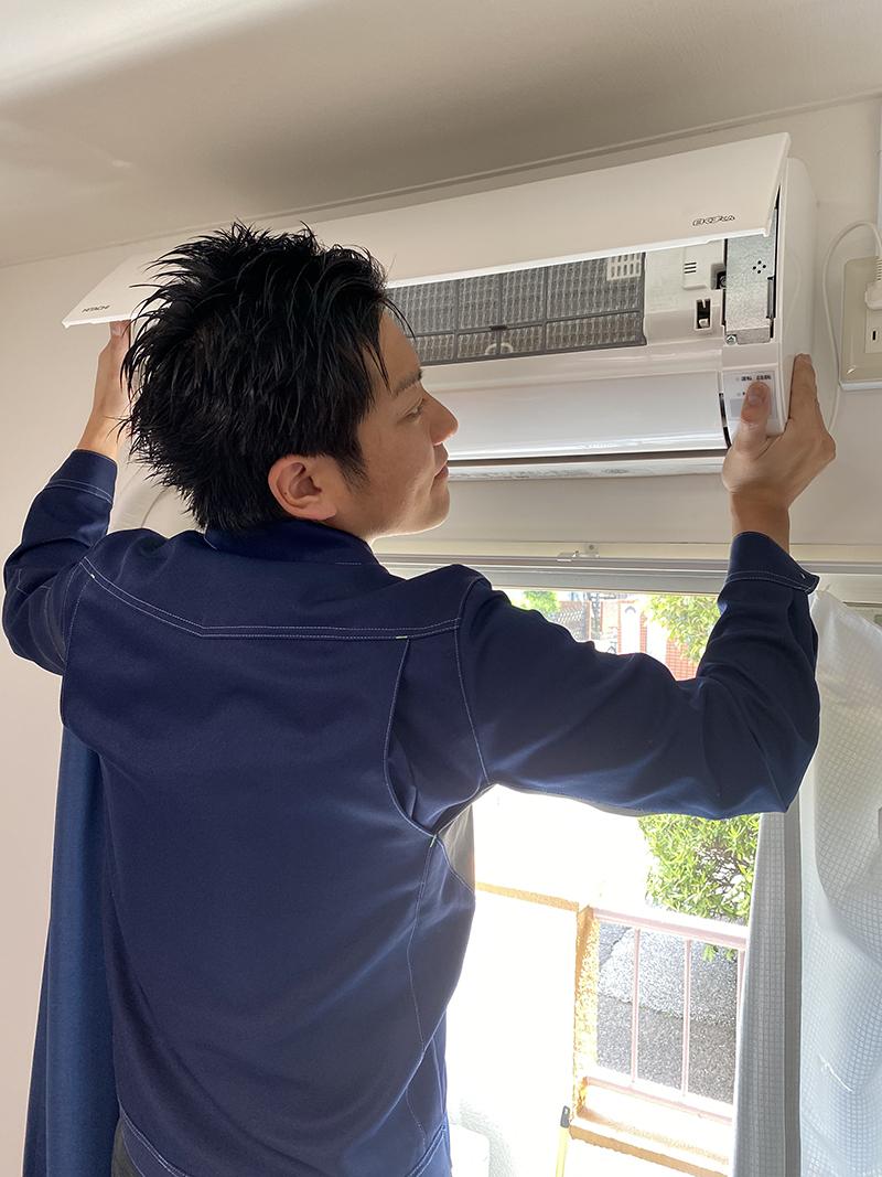世田谷区 エアコン撤去7台